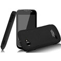 IMAK Ultrathin Matte Color Covers Hard Cases for Gionee GN170 - Black