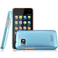 IMAK Ultrathin Matte Color Covers Hard Cases for Gionee GN205 - Blue