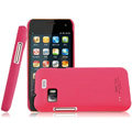 IMAK Ultrathin Matte Color Covers Hard Cases for Gionee GN205 - Rose