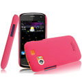IMAK Ultrathin Matte Color Covers Hard Cases for Gionee GN210 - Rose