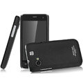 IMAK Ultrathin Matte Color Covers Hard Cases for Gionee GN320 - Black