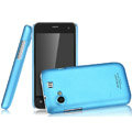 IMAK Ultrathin Matte Color Covers Hard Cases for Gionee GN320 - Blue