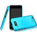 IMAK Ultrathin Matte Color Covers Hard Cases for Gionee GN700W - Blue
