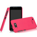 IMAK Ultrathin Matte Color Covers Hard Cases for Gionee GN700W - Rose