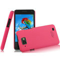 IMAK Ultrathin Matte Color Covers Hard Cases for Gionee GN868 - Rose