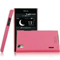 IMAK Ultrathin Matte Color Covers Hard Cases for LG P940 Prada 3.0 K2 - Rose