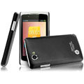 IMAK Ultrathin Matte Color Covers Hard Cases for OPPO Real R803 - Black