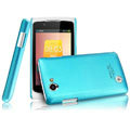 IMAK Ultrathin Matte Color Covers Hard Cases for OPPO Real R803 - Blue