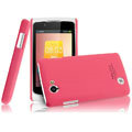 IMAK Ultrathin Matte Color Covers Hard Cases for OPPO Real R803 - Rose