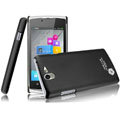IMAK Ultrathin Matte Color Covers Hard Cases for OPPO Real R807 - Black