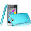 IMAK Ultrathin Matte Color Covers Hard Cases for OPPO Real R807 - Blue