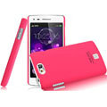 IMAK Ultrathin Matte Color Covers Hard Cases for OPPO U701 - Rose