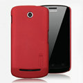 Nillkin Super Matte Hard Cases Skin Covers for Coolpad 5860 - Red