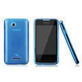 Nillkin Super Matte Rainbow Cases Skin Covers for Coolpad 5855 - Blue