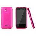 Nillkin Super Matte Rainbow Cases Skin Covers for Coolpad 5855 - Rose