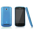Nillkin Super Matte Rainbow Cases Skin Covers for Coolpad 5860 - Blue