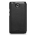 Nillkin leather Cases Holster Covers for Coolpad 9100 - Black