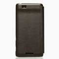 Nillkin leather Cases Holster Covers for Coolpad 9900 - Brown