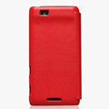 Nillkin leather Cases Holster Covers for Coolpad 9900 - Red