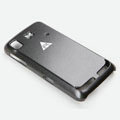 ROCK Naked Shell Cases Hard Back Covers for Lenovo LePhone S560 - Black