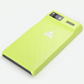 ROCK Naked Shell Cases Hard Back Covers for Motorola MT887 RAZR V XT889 - Yellow