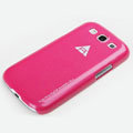 ROCK Naked Shell Cases Hard Back Covers for Samsung Galaxy SIII S3 I9300 I9308 I939 I535 - Rose