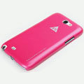 ROCK Naked Shell Cases Hard Back Covers for Samsung N7100 GALAXY Note2 - Rose
