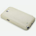 ROCK Side Flip leather Cases Holster Skin for Samsung N7100 GALAXY Note2 - Beige