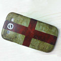 England Retro flag Hard Back Cases Covers for Samsung Galaxy SIII S3 I9300 I9308 I939 I535