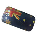 Retro Australia flag Hard Back Cases Covers for Samsung Galaxy SIII S3 I9300 I9308 I939 I535