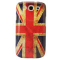 Retro Britain flag Hard Back Cases Covers for Samsung Galaxy SIII S3 I9300 I9308 I939 I535