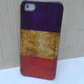 Retro France flag Hard Back Cases Covers Skin for iPhone 5