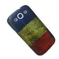 Retro France flag Hard Back Cases Covers for Samsung Galaxy SIII S3 I9300 I9308 I939 I535