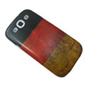 Retro Germany flag Hard Back Cases Covers for Samsung Galaxy SIII S3 I9300 I9308 I939 I535