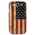 USA American Retro flag Hard Back Cases Covers for Samsung Galaxy SIII S3 I9300 I9308 I939 I535