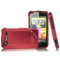 IMAK Armor Knight Color Covers Hard Cases for HTC Incredible S S710E G11 - Red