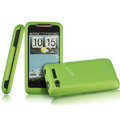 IMAK Armor Knight Color Covers Hard Cases for HTC Lexicon S610D - Green