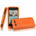 IMAK Armor Knight Color Covers Hard Cases for HTC Lexicon S610D - Orange
