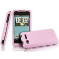 IMAK Armor Knight Color Covers Hard Cases for HTC Lexicon S610D - Pink