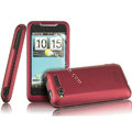 IMAK Armor Knight Color Covers Hard Cases for HTC Lexicon S610D - Red