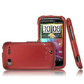IMAK Armor Knight Color Covers Hard Cases for HTC Pyramid Sensation 4G G14 Z710e - Red