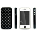 IMAK Candy Color Covers Hard Cases for iPhone 4G\4S - Black