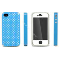IMAK Candy Color Covers Hard Cases for iPhone 4G\4S - Blue