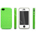 IMAK Candy Color Covers Hard Cases for iPhone 4G\4S - Green