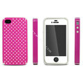 IMAK Candy Color Covers Hard Cases for iPhone 4G\4S - Magenta