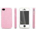 IMAK Candy Color Covers Hard Cases for iPhone 4G\4S - Pink
