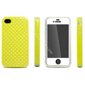 IMAK Candy Color Covers Hard Cases for iPhone 4G\4S - Yellow