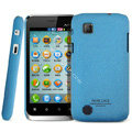 IMAK Cowboy Shell Quicksand Hard Cases Covers for Amoi N89 - Blue