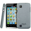 IMAK Cowboy Shell Quicksand Hard Cases Covers for Amoi N89 - Gray