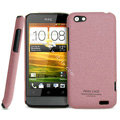 IMAK Cowboy Shell Quicksand Hard Cases Covers for HTC One V Primo T320e - Purple